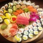 Sashimi i sushi Ginzy